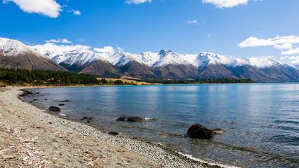 Lake Ohau South Island New Zealand