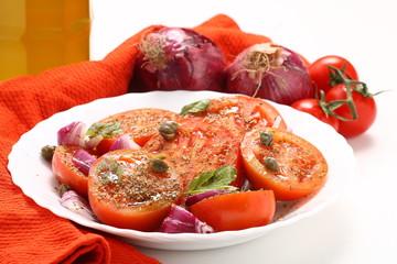 insalata con i pomodori