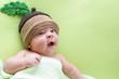 baby baby weared in acorn hats
