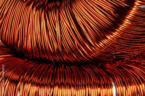 canvas print picture Ring core transformer