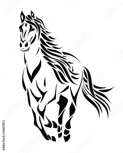 stammeslaufendes-pferd