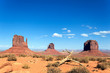 famous landscape of Monument Valley
