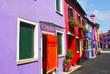 maisons colorées de Burano 15