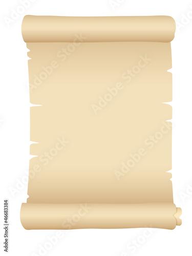Papier-, Schriftrolle