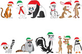 Cute Christmas Animals Collection