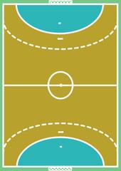 Handballfeld