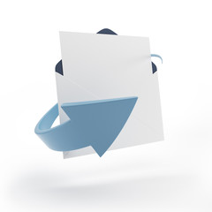 Email concept symbol