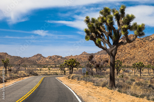 Beautiful drive through the Mojave Desert