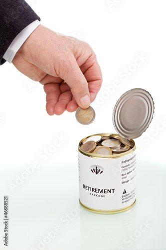 Long term savings concept