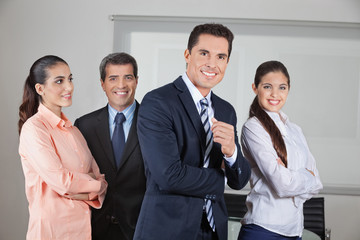 Portrait eines Büro-Teams