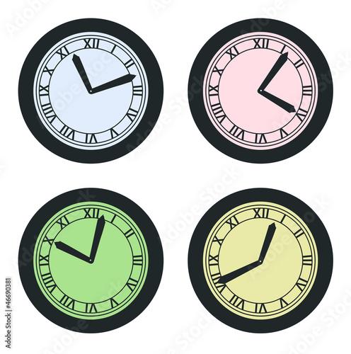 Cadrans, horloges.