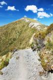 Trekking Kepler Track - tramping track in New Zealand. poster