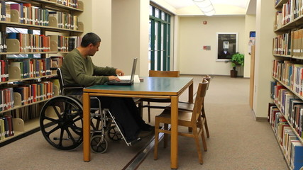 Wheelchair Laptop Library