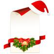Geschenkkarte zu Weihnachten