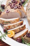 Sliced Roast Pork Tenderloin