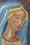 Mosaic: Virgin Mary