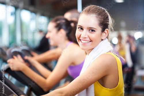 Foto op Plexiglas Fitness Woman training
