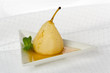 Poached Forelle Pear