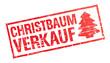 Stempel - Christbaumverkauf (I)