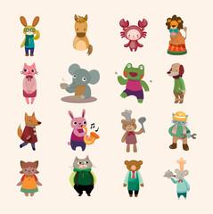 set of animal icon