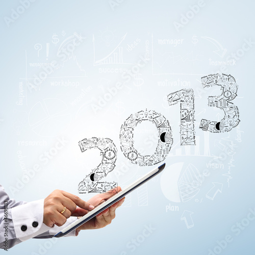 2013 business plan concept ideas, With touch screen tablet pc