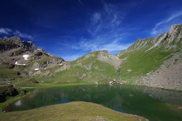 lac de montagne - haute tarentaise