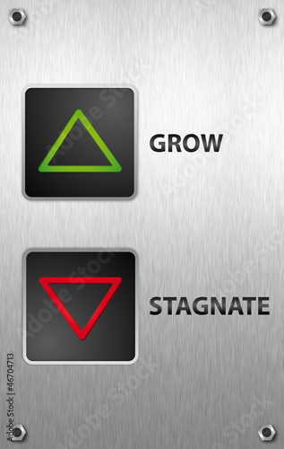 Grow vs. Stagnate