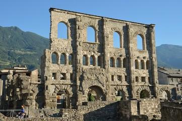 Teatro romano,Aosta