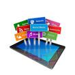 tablet social media
