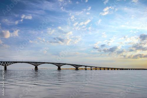 Fototapeten,brücke,grossstadtherbst,himmel,blau