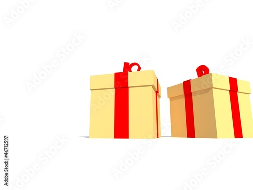Christmas gifts - 3d animation