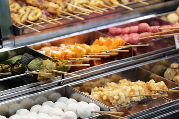 Hawker food at Penang Malaysia..