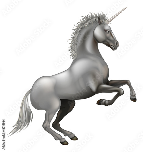 Powerful Unicorn illustration
