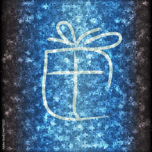 Frozen present