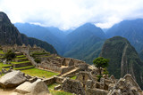 Ancient lost city Machu Picchu