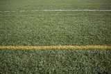Lines on football field