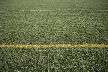 Lines on football field