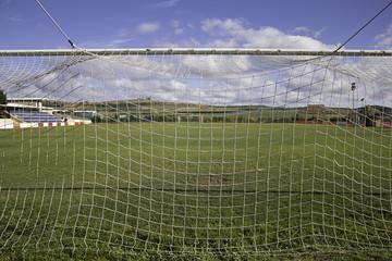 Goal in Stadium