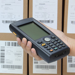 Barcode scanner operated on PocketPC