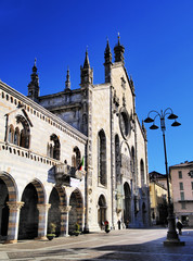 Cathedral in Como, Lombardy, Italy