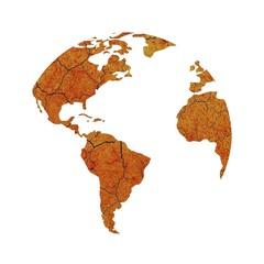 Sequía del planeta tierra.