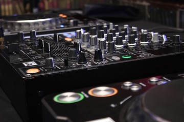Table de mixage dj