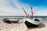 Strandboote Stubbenfelde auf Usedom