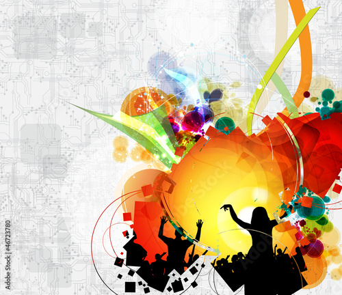 Music illustration - 46723780