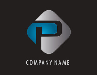 P business logo