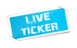 Etikett Live Ticker poster