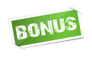 Sticker - Bonus