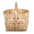 old big wicker basket