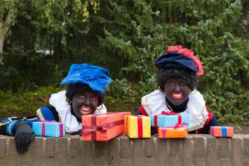 Dutch black Petes hiding