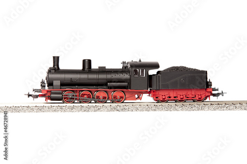 old steam loco model - 46728941
